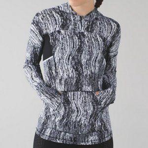Lululemon Runbeam Hoodie Pullover Texture Twist